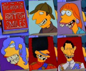 British smiles